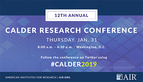 Image of invitation to the 2019 CALDER conference