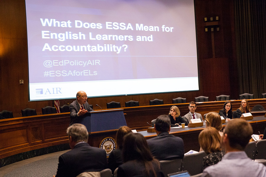 AIR's Washington DC ESSA for English Learners event on April 7, 2016
