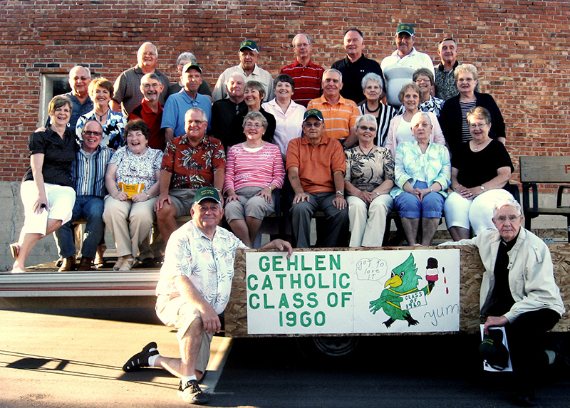Image of Gehlen Class of 1960 reunion for Project Talent