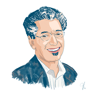 Illustration of AIR expert David Osher
