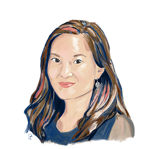 Illustration of AIR expert Michelle Yin