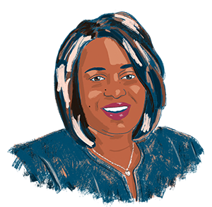 Illustration of Monique Chism