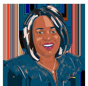Illustration of Monique Chism