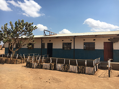 Zambia 360 eSchool building