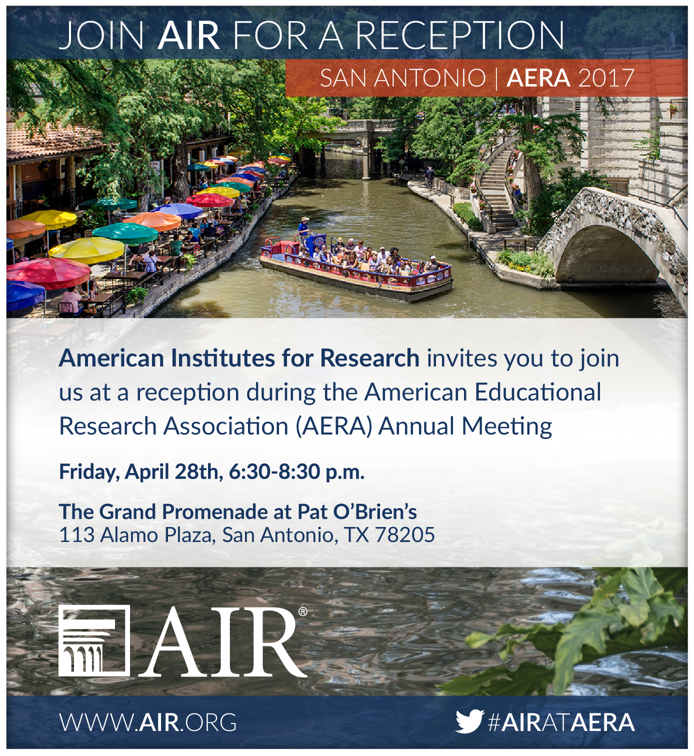 american educational research association annual meeting Details on all of the american heart association's annual scientific conferences, as well as other meetings of interest to the cardiovascular professional.