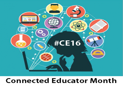 Connected Educator Month 2016 logo
