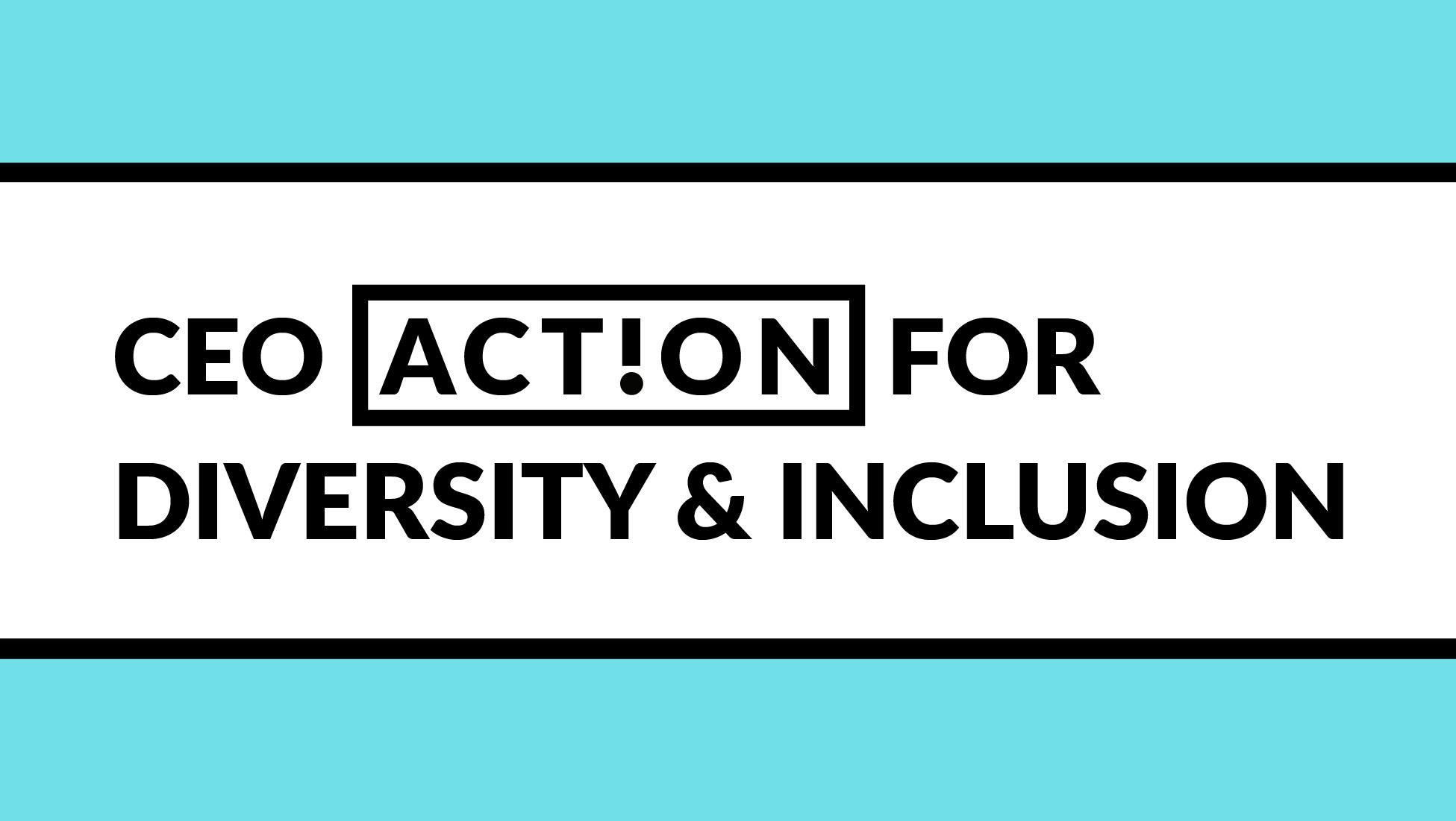 Image of CEO Diversity Action Pledge logo