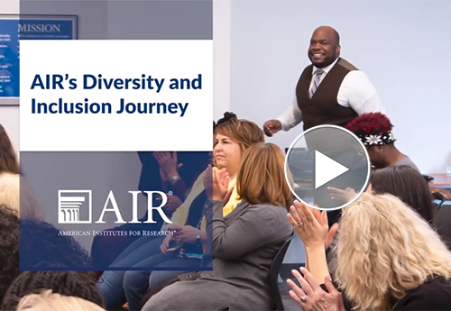 Still image from Diversity and Inclusion video