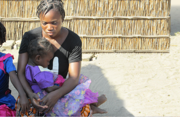Image of mother and child in Zambia