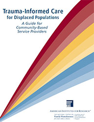 NCFH - Trauma Informed Care for Displaced Populations report cover