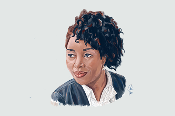 Illustration of AIR expert Adaeze Enekwechi