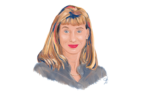 Illustration of AIR expert Yael Harris