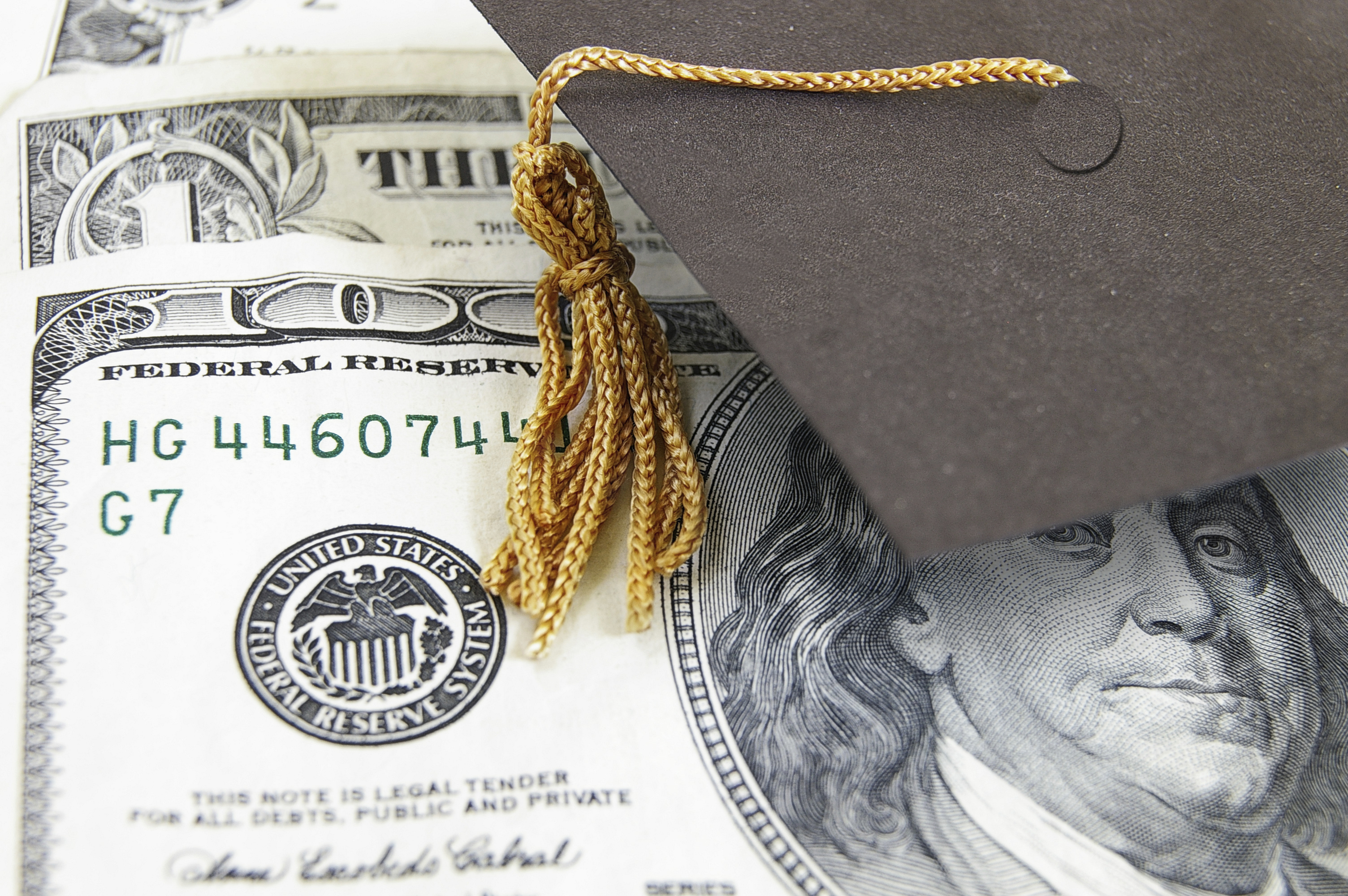 Money and a mortarboard