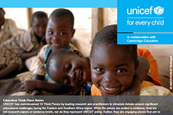 Image of UNICEF Think Piece report cover