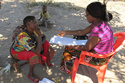 Image of two women in Zambia