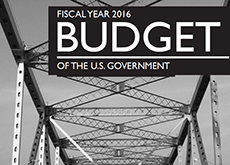 2016 Federal Budget cover