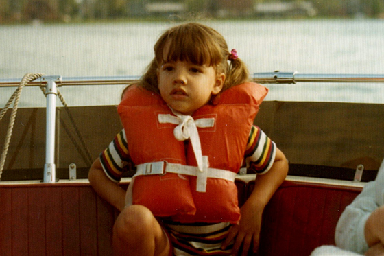 Image of AIR expert Patricia Garcia-Arena as a child
