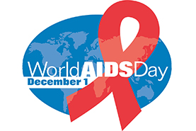 Image of World AIDS Day 2018 logo