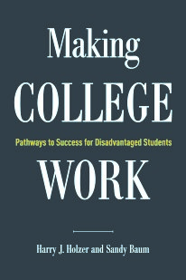 Image of Making College Work book cover