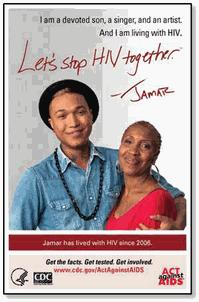 Poster: Let's Stop HIV Together