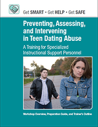 Preventing Teen Dating Abuse - toolkit cover