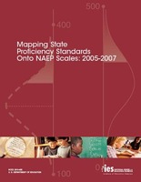 Cover of Mapping State Proficiency Standards Onto NAEP Scales: 2005-2007