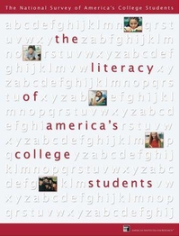 The Literacy of America's College Students report cover