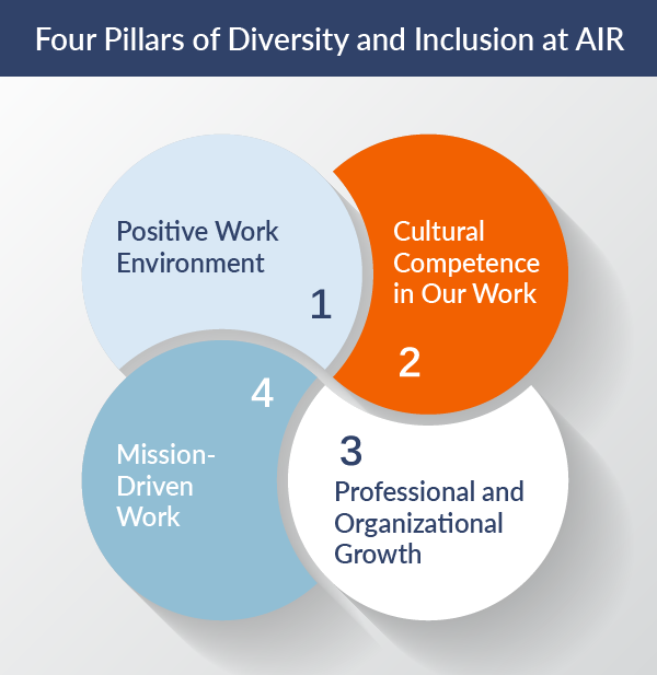 Image of Four Pillars of Diversity graphic