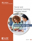 Image of SEL coaching toolkit cover