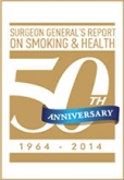 Surgeon General 50 Yrs of Progress logo