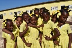 Image of schoolgirls in Haiti