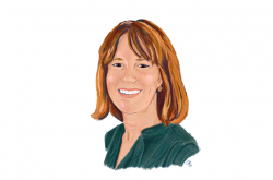 Illustration of AIR expert Allison Gandhi
