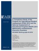NAEP PISA Report cover