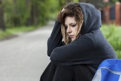 Troubled teenage girl