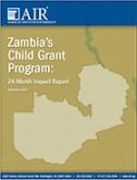 Zambia Child Grant report cover