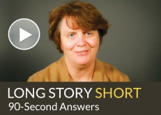 Long Story Short video interview with Julia Lane