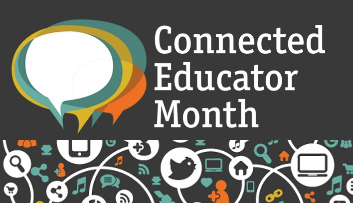 Connected Educator Month Logo