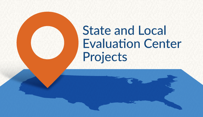 Image link to Interactive Map showing AIR's State and Local Evaluation Center Projects